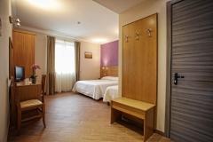 camera viola hotel carpino